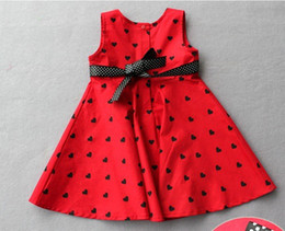 Wholesale High Fashion baby and Kids clothes Overrun Dress baby wear dress clothes girl s skirts k