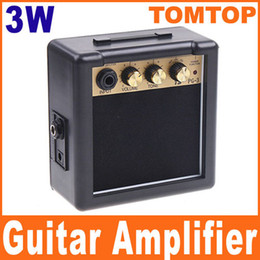 Wholesale PG W Electric Guitar Amp Amplifier Speaker with Volume Tone Control knobs I71