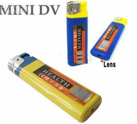 Wholesale 5pcs hot Spy Lighter Hidden Camera hot selling Mini DV DVR Camcorder with TF Card Slot