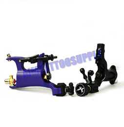 Wholesale Blue Rotary Tattoo Machine Dragonfly and Rotary Tattoo Machine WHI Top Tattoo Kit Supply