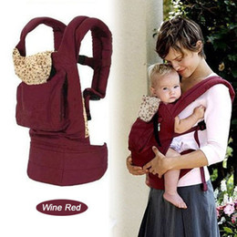 Wholesale Front Back Baby Carrier Infant Backpack Sling wine red and Dark Blue Comfort AAA Quality From Yangze