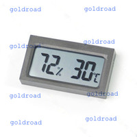 Wholesale Freeshipping Digital LCD Thermometer Humidity Temperature Hygrometer