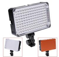 Aputure AL-126 126 vidéo à LED s'allume la caméra caméscope Photo 5600 K lampe à LED pour Canon Ni d'éclairage