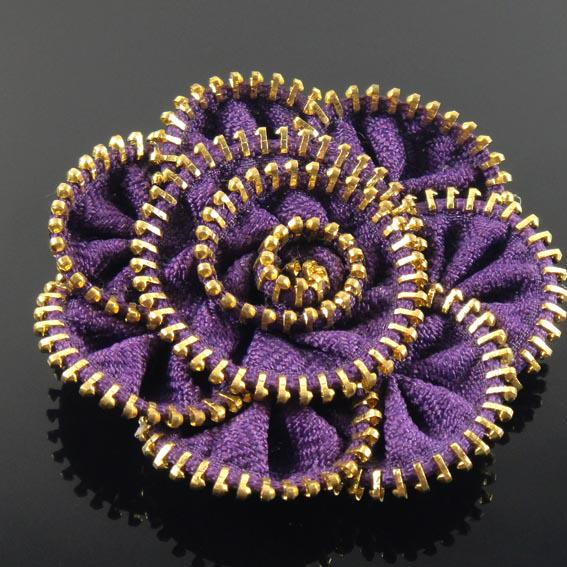 fashion-colored-zipper-bunch-flower-zipp