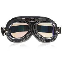 Wholesale Best Quality Versatile Goggle Eyeglasses Eyewear with Colorful Reflective Lens and Adjustable Elasti