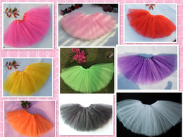 Classic Dance Girls Tutu Skirt Ballet Tutu For Baby Girls Children Birthday Clothes One Piece Retail