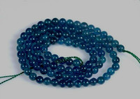 Wholesale 4mm mm mm mm Apatite Round Gemstones Loose Beads inch