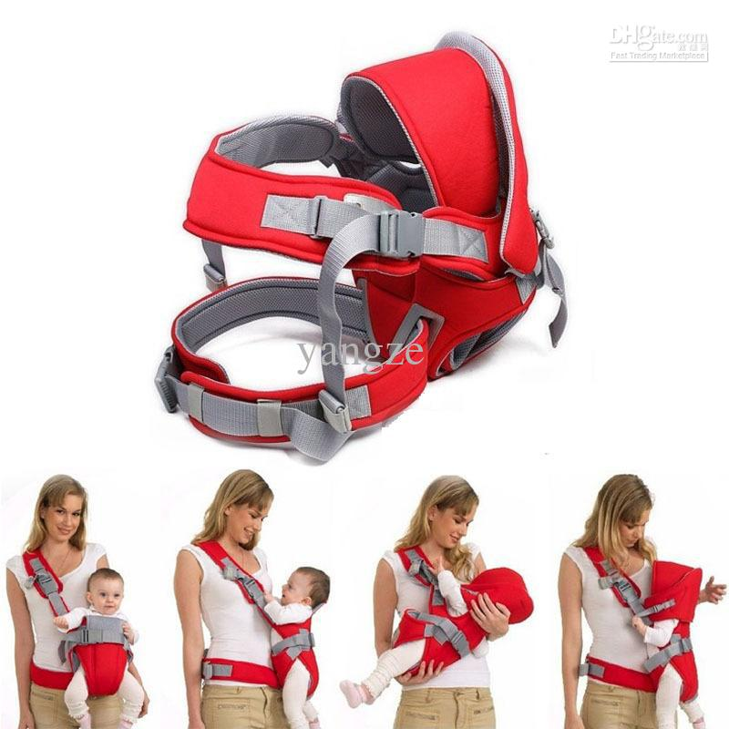 Online Cheap 6 In 1 Baby Carrier Infant Red &Amp; Blue Backpack ...