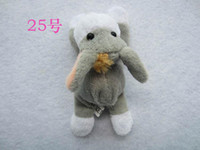 Wholesale Hot Plush toy animal Fridge magnet Fridge Magnetic stick home decoration mix packing