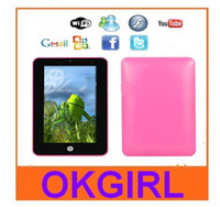 Wholesale Cheap quot epad GB Android via8650 MID camera WiFi quot original android tablet pc ainol novo7 ELF