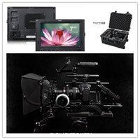 Wholesale Tilta DSLR Camera Rig Follow focus Matte Box Ruige quot monitor V mount battery system Safety case
