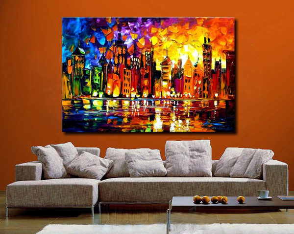 product  hand painted large canvas oil painting