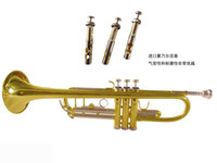 Wholesale Hot HTR SL trumpet three tone trumpet Bach trumpet double color trumpet factory direct sale