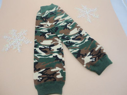 Wholesale Baby Camouflage Leg Warmers Green Military Army Marine Navy Air Force Leggings Kids Leg Warmer120pair QueenBaby