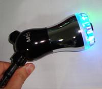 al por mayor aparatos de terapia meso-mini rojo, azul, amarillo led de luz de la terapia de cuidado de la piel del equipo de la belleza no la aguja meso