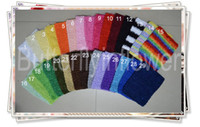 Wholesale crochet girl tube halter tops headband inch colors