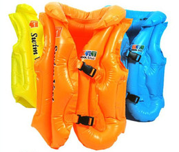 Wholesale Baby Swimming suit Inflatable swimming vest Bathing suit Life jacket L