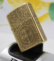Wholesale Constantine Zipo Brass Windproof Lighter