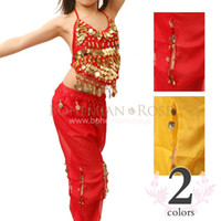 KIDS Belly Dance Set Children's Belly Dance Wear Top + Trous...