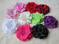 Lace bamboo flower sticks - 4 quot Gerbera Children s Hair Accessories Girls Head Flower Clip quot Hair Headband Bow