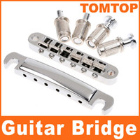 Wholesale String Chrome Tunomatic Bridge Stopbar Set for Gibson Guitar I80