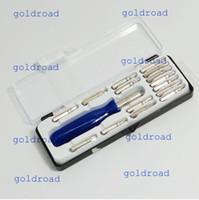 Wholesale Freeshipping Portable pc Screwdriver Torx T5 T6 T8 T10 T15 Bit PH Tool Set