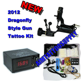 Wholesale Professional Tattoo Kit Rotary Tattoo Machine Dragonfly Adjust packet High Quality Supply