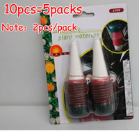 automatic packing - 10pcs pack New In Retail Packing Automatic Plant Waterers Houseplant Spikes