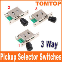 Cheap 3 Way Pickup Selector Switches for LESPAUL GIBSON SG FLYING TELECAST Electric Guitar I66
