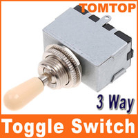 Wholesale Chrome Way Toggle Switch for Electric Guitar with Cream Knob I67