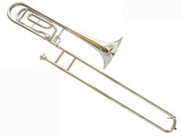 Wholesale HY DN Professional Tuning Slide Trombone Bb F W Trigger Case in stock