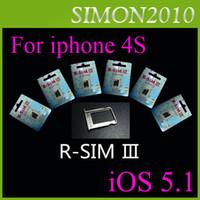 Wholesale Gevey R sim III Latest Gevey For iphone S iOS S Turbo Unlock Sim Card Auto Signal NEW