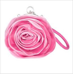 Wholesale New Arrival Fashion Lady s Bag Rose Flowers Bag Banquet Bags The Bride Bags