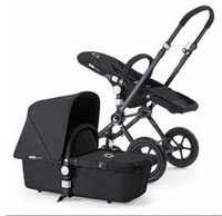 Wholesale Bugaboo Cameleon Special Edition All Black Baby Strollers Top Quality Baby Stroller Free Gift