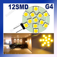 Wholesale G4 SMD LED Bright Marine Bulb Lamp Camper Car Bulb Lamp V Warm White Light