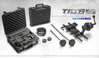 Wholesale Tilta DSLR Follow Focus Kit Quick Release DSLR Baseplate mm Rod DSLR Rig for D2 D3 D GH1 GH2