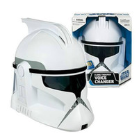 Wholesale Brand new Star Wars White clone trooper voice changer armet headpiece can be wear