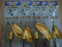 Wholesale LURE fishing tackle BLUE FOX VIBRAX fishing lures spinner baits