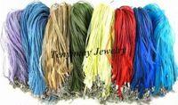Cord & Wire organza ribbon necklace - Mixed Organza Ribbon Necklace Cords Multicolor Gauze Necklace Strap