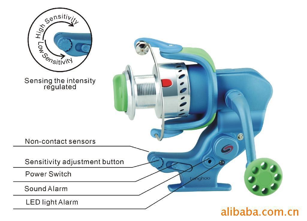 Longhoo 4 7 1 automatic fishing reels 5 2 bearing for Automatic fishing reel