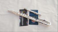 Wholesale best Tube bending flute children flute double headjoints silver plated E key