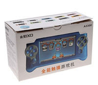 Wholesale New MP5 Player Feel JXD A3300 inch GB Touch Key Control MP5 Player with HDMI Flash Game