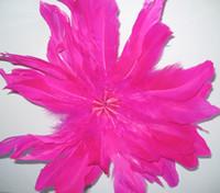 Wholesale Big Feather Fascinators Party Hair Clip Evening Cocktail Fascinator Flower