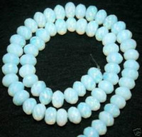 Abacus  angels stone - 4 mm mm Faceted Sri Lanka Moonstone Abacus Loose Bead inch