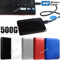 Wholesale WESTERN DIGITAL Portable GB TB quot USB SuperSpeed Mobile Hard Disk Drive HDD Desk