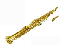 Wholesale limited to promotion WSS QJ bB key Soprano Saxophone
