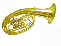 Wholesale best New US joint HY B362 euphonium drop B flat tuba four flat keys small arms in stock