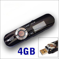 Wholesale NEW GB GB CHARGEABLE MP3 MUSIC PLAYER WITH LCD SCREEN FM RADIO USB MEMORY STICK
