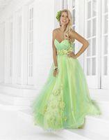 A-Line beaded rosettes - New Stunning Blush Prom Dresses formal dresses Sweetheart Beaded Empire Rosettes Sweet Sixteen dress Evening Dresses
