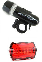 Wholesale Waterproof LED Bike Bicycle Head Light Rear Flashlight